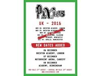 Pixies x 2 standing Manchester Apollo Sunday 4th December