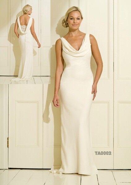 Fine Cowl Neck Wedding Dress Sketch - Wedding Plan Ideas ...