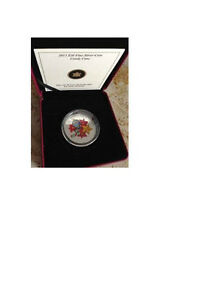2013 Venetian Glass $20 Silver - Candy Cane coin