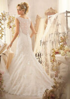 Stunning Mori Lee Lace Wedding Gown!