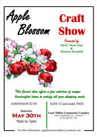 Apple Blossom Craft Show -MAY 30TH