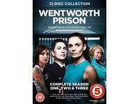 WENTWORTH PRISON - SEASON 1-3 - brand new/sealed