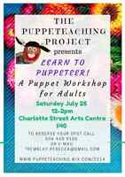 Puppet Workshop / Puppeteer Lessons