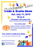 Christopher Lake Trade and Craft Fair