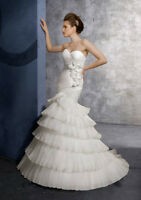 Reduced! New Mori Lee Wedding Dress, Size 4