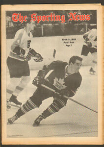 Sporting News Feb. 1, 1969 – Leafs Norm Ullman on cover
