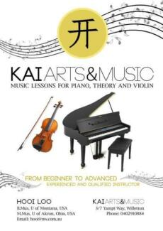 Piano Lessons / Violin Lessons-1st lesson free Shelley Canning Area Preview