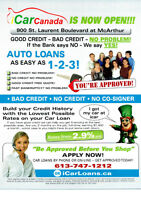 Good Credit!! Bad Credit!! Bankruptcy!!    icarloans.ca