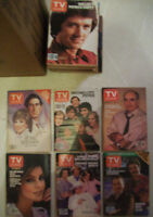 72  OLD  TV GUIDES  --  FROM  THE 1970'S - 80'S