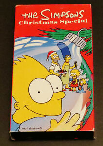 The Simpsons Christmas Special (VHS, 1991)