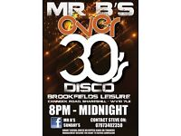 Over 30's Disco