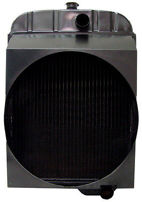 163272a Radiator For Minneapolis Moline G750 Tractors