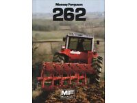 MF 262 Reversable plough Required