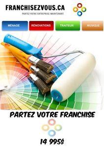 **** FRANCHISE de PEINTRE et AUTRES FRANCHISES****