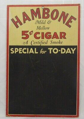 HAMBONE 5 CENT CIGAR CHALK BOARD