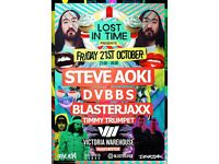 2 x Lost In Time Tickets / AOKI/ DVBBS/Blasterjaxx/TTrumpet