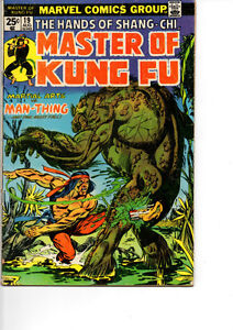 Master of Kung Fu Comics