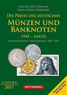 Die Preise der deutschen Münzen und Banknoten 1945 bis heute, 2. Auflage 2017
