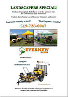 ****ATTENTION ALL COMMERCIAL LANDSCAPERS****