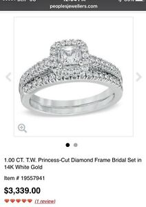 Engagement set with life long warranty