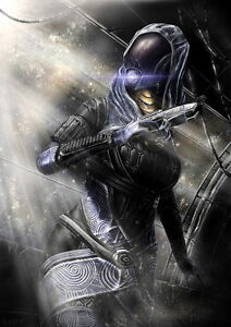 124 Mass Effect Tali Zorah Vas Normandy 14