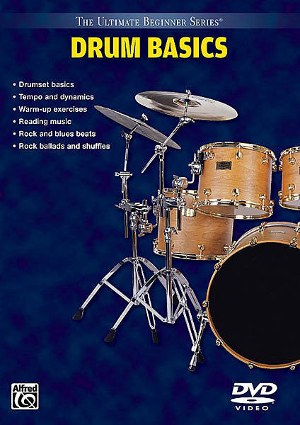 DRUM BASICS BEGINNER LESSONS *NEW* DRUMS DVD DRUMSET