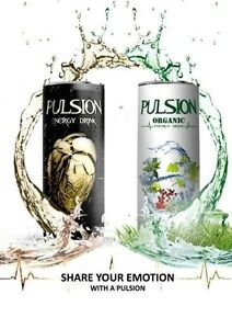 PULSION  ENERGY DRINK CLASSIC & ORGANIC Brisbane City Brisbane North West Preview