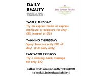 The Beauty Room - Allerton Bywater - Flash Offers!