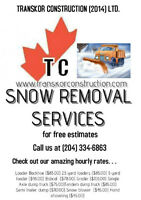 SNOW REMOVAL & HAULING