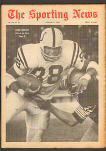 Sporting News Jan. 11, 1969 – John Mackey cover