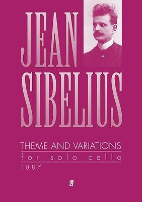 Theme and Variations 1887 Solo Cello Book NEW 048020758