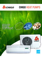 Chigo 18000 BTU Heat pumps