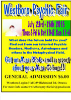 2nd Annual Westboro Psychic Fair