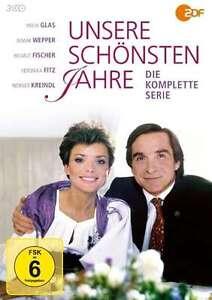 Unsere schönsten Jahre - Die komplette Serie - Uschi Glas - Elmar Wepper 3 DVD