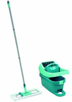 Leifheit Tergipavimento Set Detergente per Pavimenti Mocio Stampa Panno Secchio