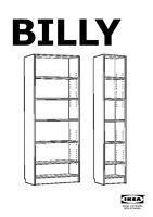"Bibliothèque IKEA, shelves IKEA ""Billy"""