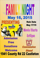 Outdoor Family Movie and Professional Fireworks Display