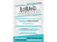 Boyband Auditions LONDON