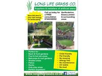 LONG LIFE GRASS COMPANY suppliers & installers of artificial lawns