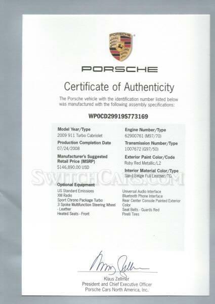 Image 2 Coche Americano usado Porsche 911 2009
