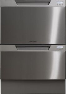 LAVE-VAISSELLE A 2 TIROIRS FISHER PAYKEL