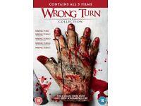 Wrong Turn 1-5 Box Set DVD