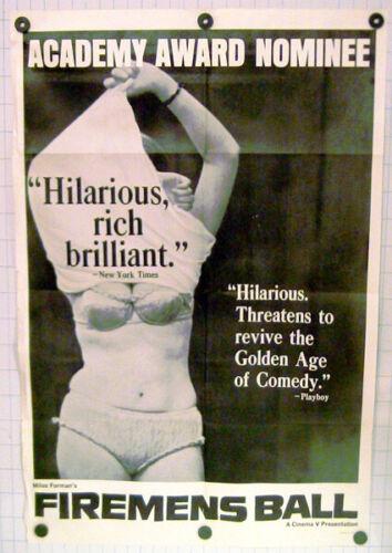 Firemens Ball  Original 1967 Movie Poster