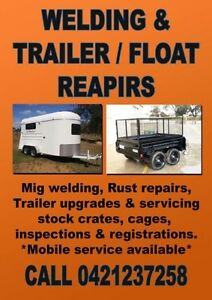 MOBILE TRAILER REPAIRS - UPGRADES - SERVICING, CARAVANS, FLOATS Adelaide CBD Adelaide City Preview