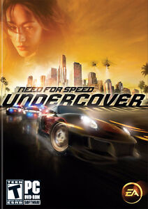 Need  for Speed- Undercover - disc in excellent condition