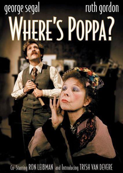WHERE'S POPPA? - DVD - Region 1 - Sealed