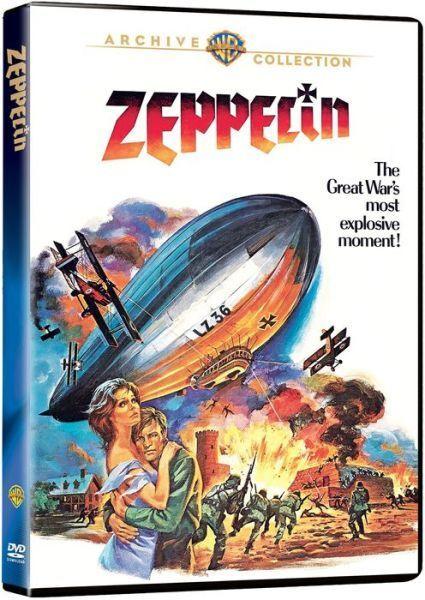 ZEPPELIN - (1971 Michael York) Region Free DVD - Sealed