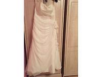 Wedding dress size 16/18