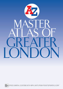 Master Atlas of Greater London by A-Z Maps (Street Map, Paperback, 2018)