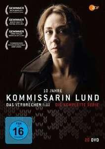Kommissarin Lund - Das Verbrechen I-III - Komplette Serie - 20 DVD Box
